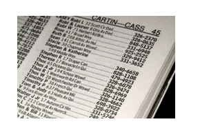 Phone book database